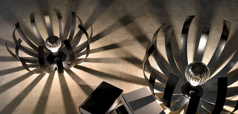 projekt interieru moderné doplnky svietidlo
