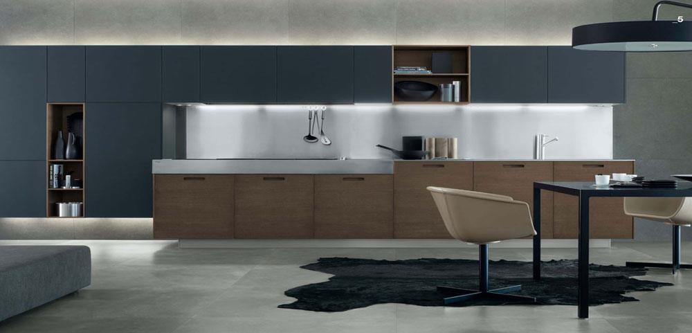 návrh interieru na mieru kuchyňa moderná 3D vizualizácie