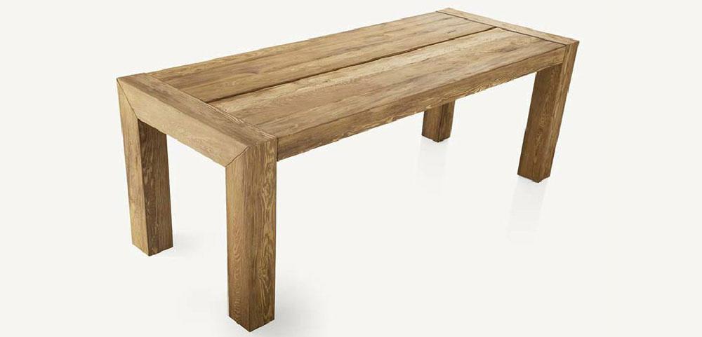 jedálensky stol drevený masívny na mieru