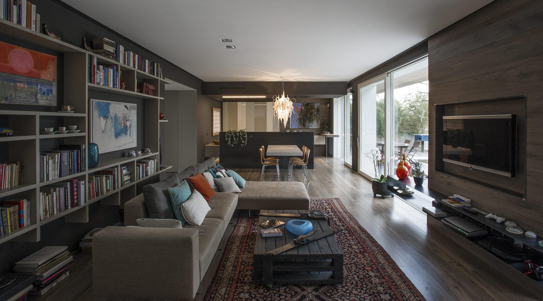 návrh interiéru štýl lago