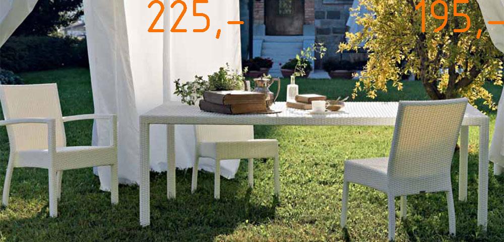 záhradny luxussný nábytok super zlava