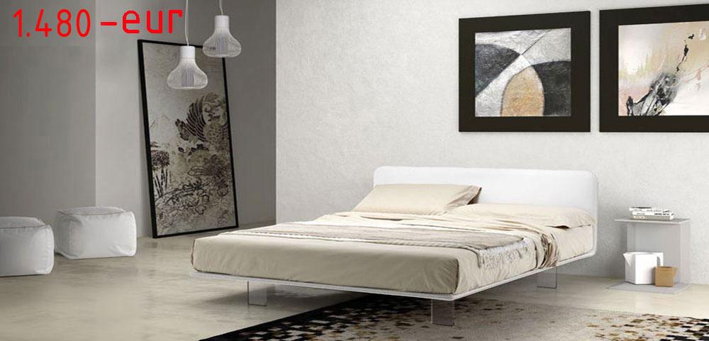 manželská kožená posteľ