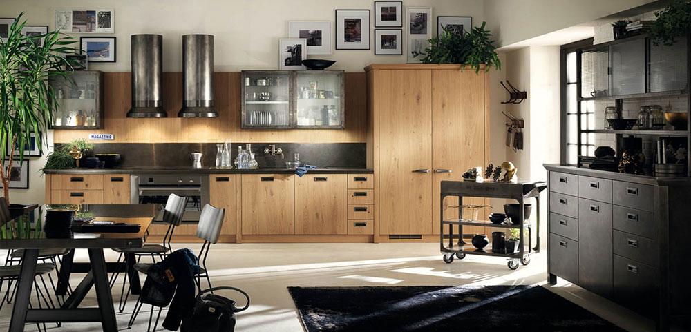 moderna trendy kuchyna drevena