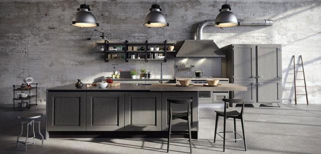návrh interieru modernej kuchyne