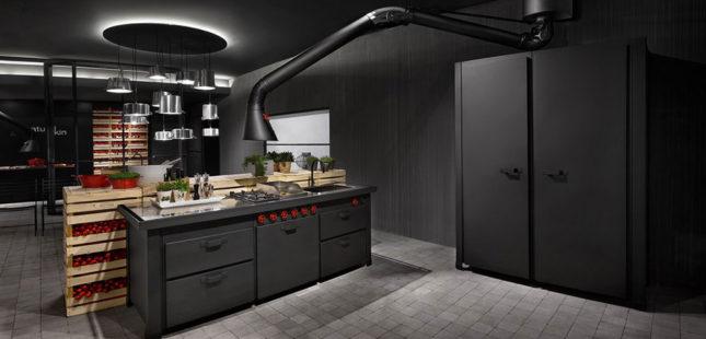 návrh interieu modernej kuchyne