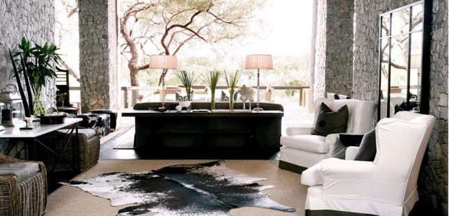 návrh interieru v luxusnom štýle