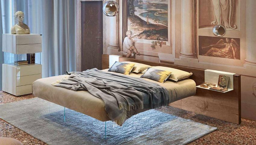 manželska postel pohodlna luxusna