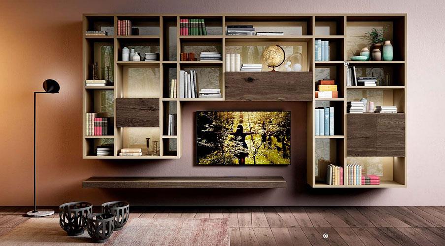 moderna tv kompozicia